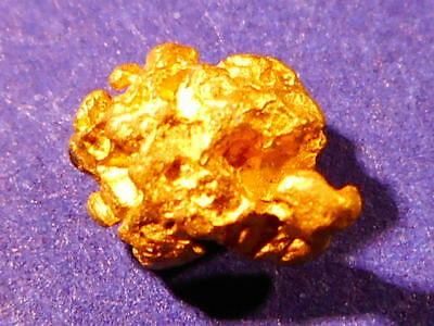 Australian Gold Nugget  ( 0.49 grams ).