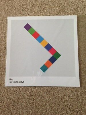 Pet Shop Boys - new lp size art prints - Yes/Elysium remasters promo