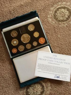 Royal Mint United Kingdom Proof Coin Collection 1998