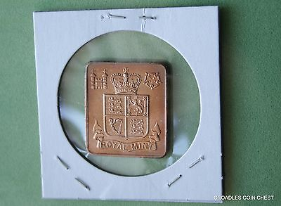 1976 English  Royal Mint Medallion From A Proof Set  As Imaged  #gob70