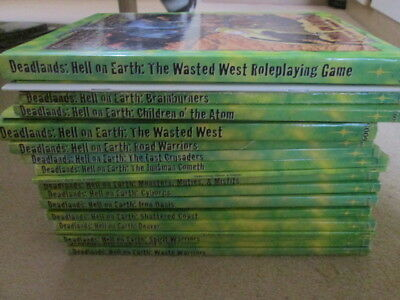 Deadlands Hell on Earth RPG with 20 Sourcebooks and Supplements