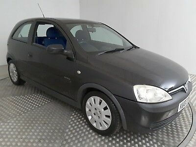 2003 VAUXHALL CORSA ACTIVE 12V BLACK 973cc PETROL 5 SPEED MANUAL HATCHBACK