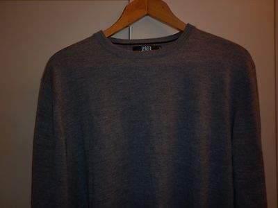 Vintage David Jones Large  Wool Grey Jumper Excellent Condition