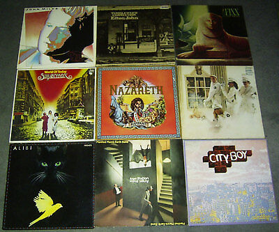 63 Lp Cover / Jackets * Only Cover * Ohne Lp / Without Lp * Rock Pop Prog Hr