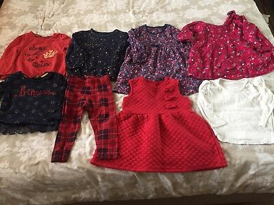 Girls 12-18 Months Bundle 1 - 1.5 Years Mixed USED
