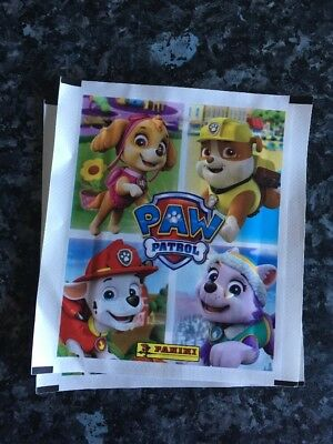 Paw Patrol A Year of Adventures Panini Stickers