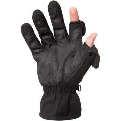 Freehands Men's Stretch Thinsulate Gloves, Medium, Black #1112MM