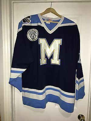 2010-11 Kyle Morrison OJHL St. Michaels Buzzers Game Worn Used Jersey Size XL