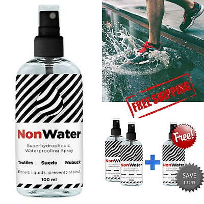 Non Water (anti water) Spray for Shoes & clothes (NonWater Waterproof). [Sale!]