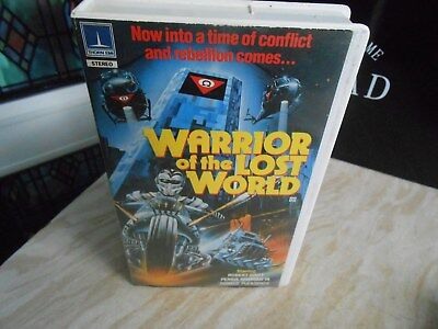 Warrior of the Lost World pre cert vhs pal video rare