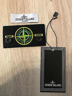 Stone Island Badge/Patch with Buttons and Tag Replacement With Buttons