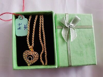 21k saudi gold geniune necklace
