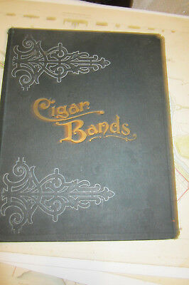 Cigar Band Album, not sure of date, tons of bands, nice album
