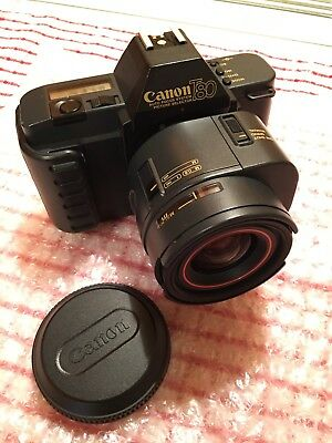 Canon T80 35mm SLR Film Camera with 35-70 mm Lens (super Condition)