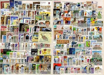 EUROPE - 1000 different used, good range from many countries