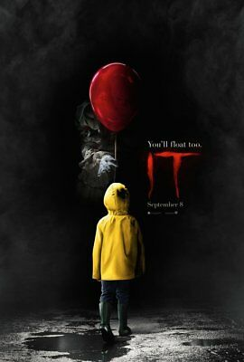 Pennywise IT Stephen King DS Original Movie Poster 27x40 - Brand New!