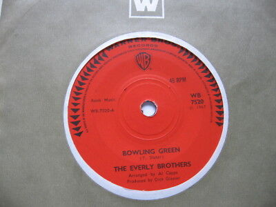 Everly Brothers - Bowling Green Vg