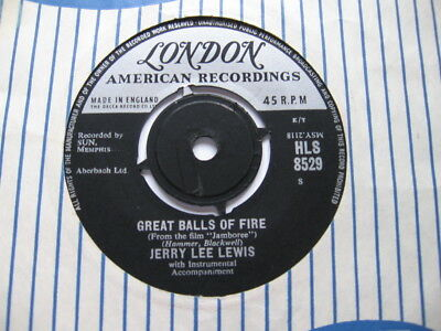 Jerry Lee Lewis - Great Balls Of Fire Vg