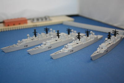 Royal Navy type 22  frigates flotilla. New uncarded.