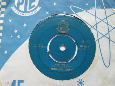 Santo And Johnny - Sleep Walk Vg
