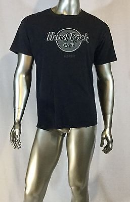 Hard Rock Cafe T Shirt Aspen Size Large Col Black