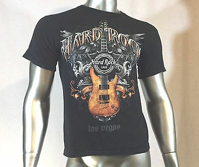 Hard Rock Cafe T Shirt Las Vegas Size Small Col Black