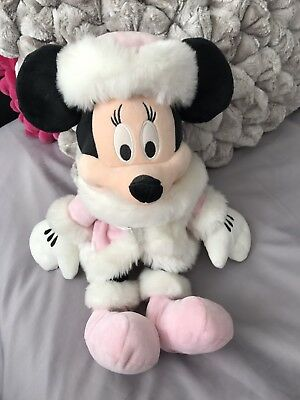 Minnie Mouse - Exclusive To Disney Store - Disney Soft Toy - Ideal Xmas Gift