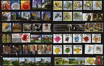 GB: 200 diff. used, mainly recent 1st-class commemoratives & Christmas stamps.
