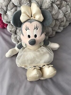 Minnie Mouse - Disney Store Exclusive- Stunning Cream Dress - Ideal Xmas Gift
