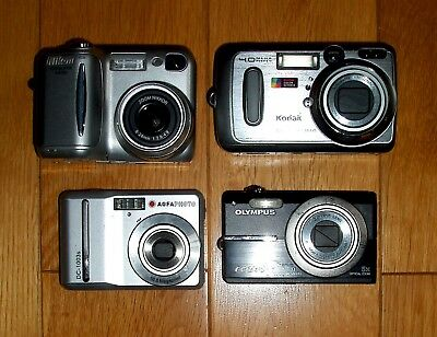 Job lot 4 digital cameras