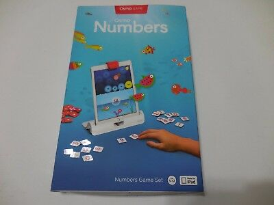 Osmo Numbers Game Box New Sealed e8