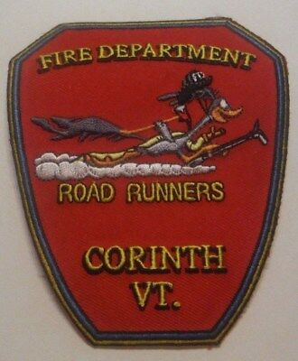 Corinth Vermont Fire Dept Road Runners Patch Unused