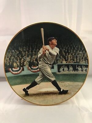 The Bradford Exchange Babe Ruth The Called Shot Collector's Plate