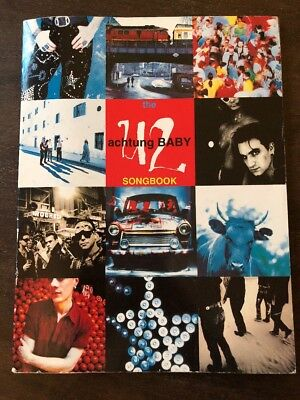 U2 Achtung Baby Songbook In Excellent Condition