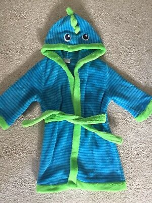 Fleece Dressing Gown Age 1-1.5 Years. Boots Mini Club.
