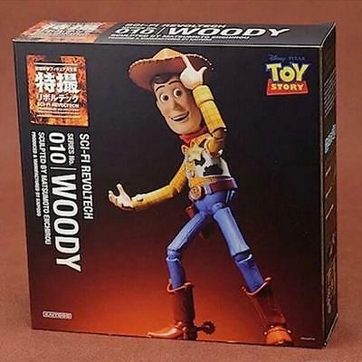 WOODY - Walt Disney Toy Story: SCI-FI Revoltech No. 010 - Woody Action Figure