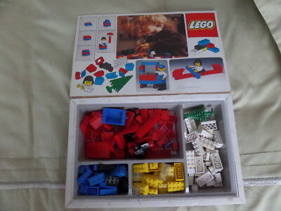 vintage 70's lego mixed item collection in box