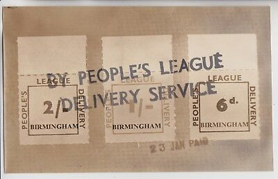 Gb Stamps 1962 Strike Mail Peoples League Press Photo From Hh Collection