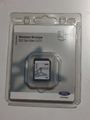 NEU Ford Navigation Western Europe SD Sat Nav V7