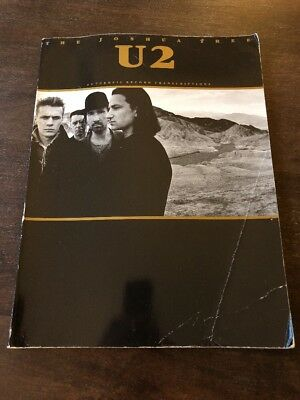 U2 The Joshua Tree Songbook With Guitar And Bass TAB