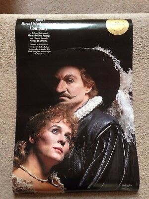 Derek Jacobi RSC on Broadway CYRANO de BERGERAC POSTER