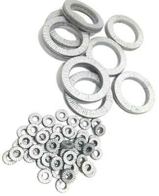 Helico Nord Lock type lock Washers Wedge Sizes M3 to M20 Steel Delta Protekt