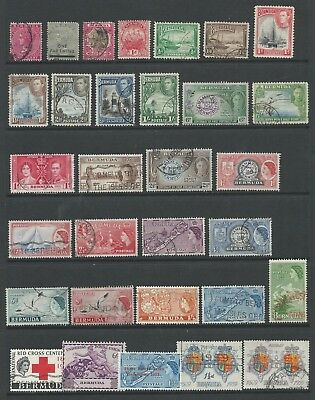 Selection of stamps from BERMUDA