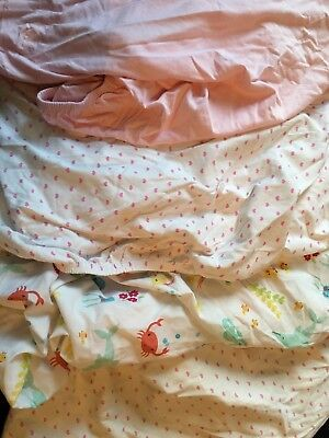 Bundle Of Toddler Bed Fitted Sheets