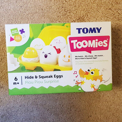 Tomy Hide and Squeak Eaggs