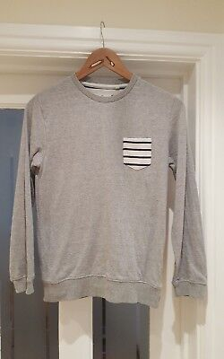Next boys grey jumper age 11 years