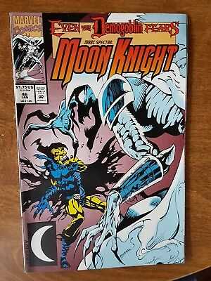 Marc Spector Moonknight #46 Marvel Jan 93 Nm Combine Shipping