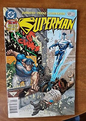 Superman #127 Dc Sept 97 Vf Combine Shipping