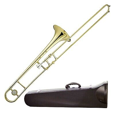 Rikter By Chase Tenor Trobone Outfit + Mouthpiece Hard Case Stand & Music Stand
