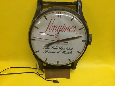 1950's Longines Advertising Clock